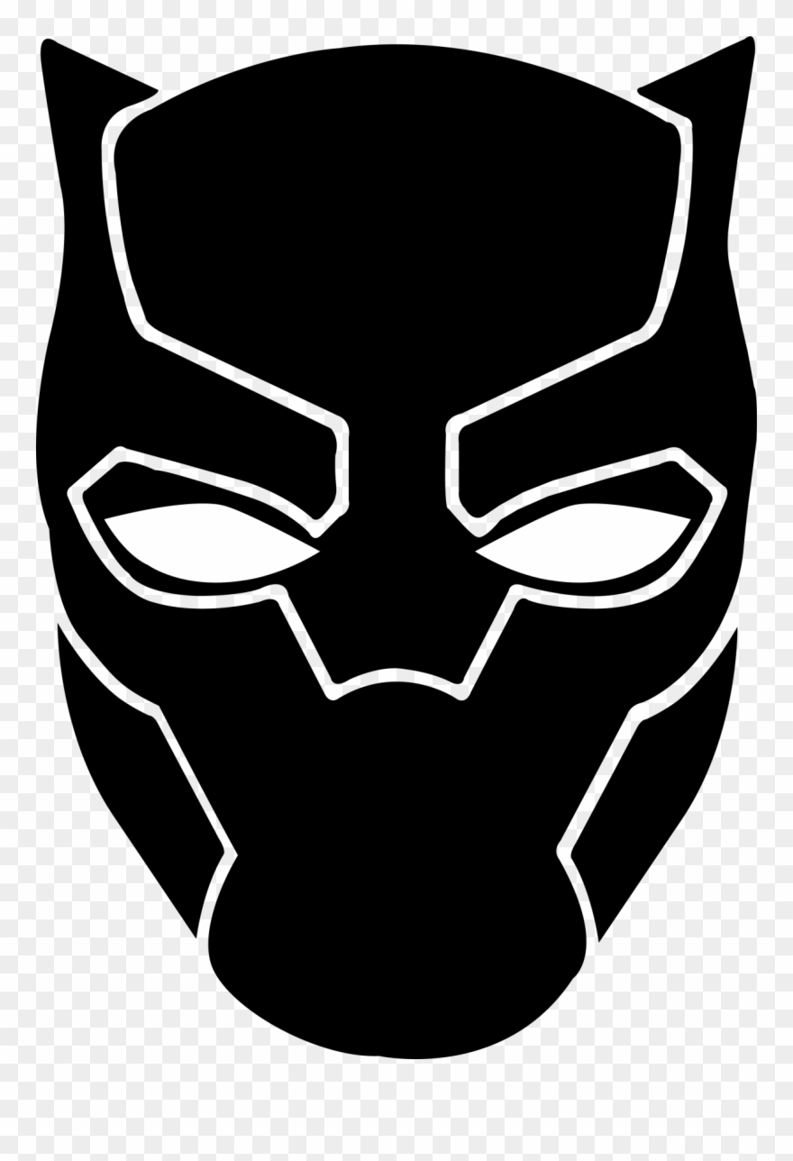 Black panther marvel clipart