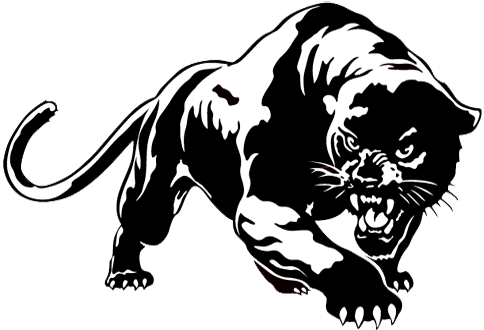 Black panther mascot clipart clipart black and white library Panther mascot clipart images gallery for free download | MyReal ... clipart black and white library