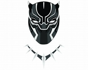 Black panther mask clipart svg library library Black panther mask clipart 4 » Clipart Station svg library library