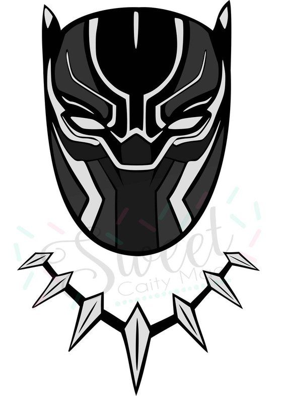 Black panther mask clipart picture freeuse stock Avengers / Black Panther / Marvel / Cut File / Cameo Projects ... picture freeuse stock