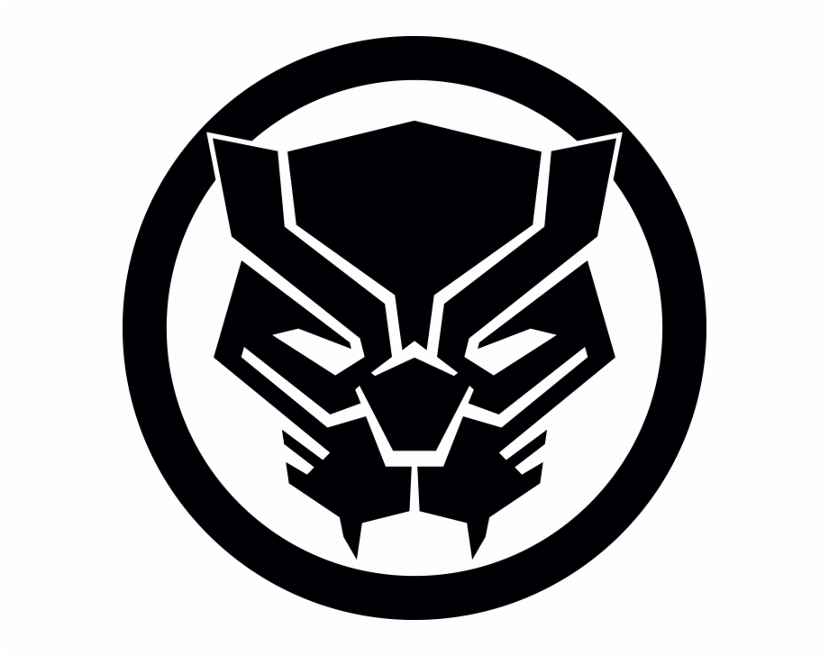 Black panther mask clipart svg library Marvel Black Panther Logo Free PNG Images & Clipart Download ... svg library