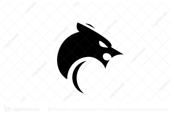 Black panther minimalist clipart jpg library Exclusive Logo 76925, Panther Logo jpg library
