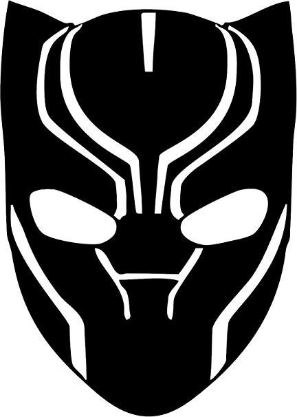 Black panther minimalist clipart clip transparent stock Pin by ainn Lee on clip art | Black panther marvel, Panther logo ... clip transparent stock