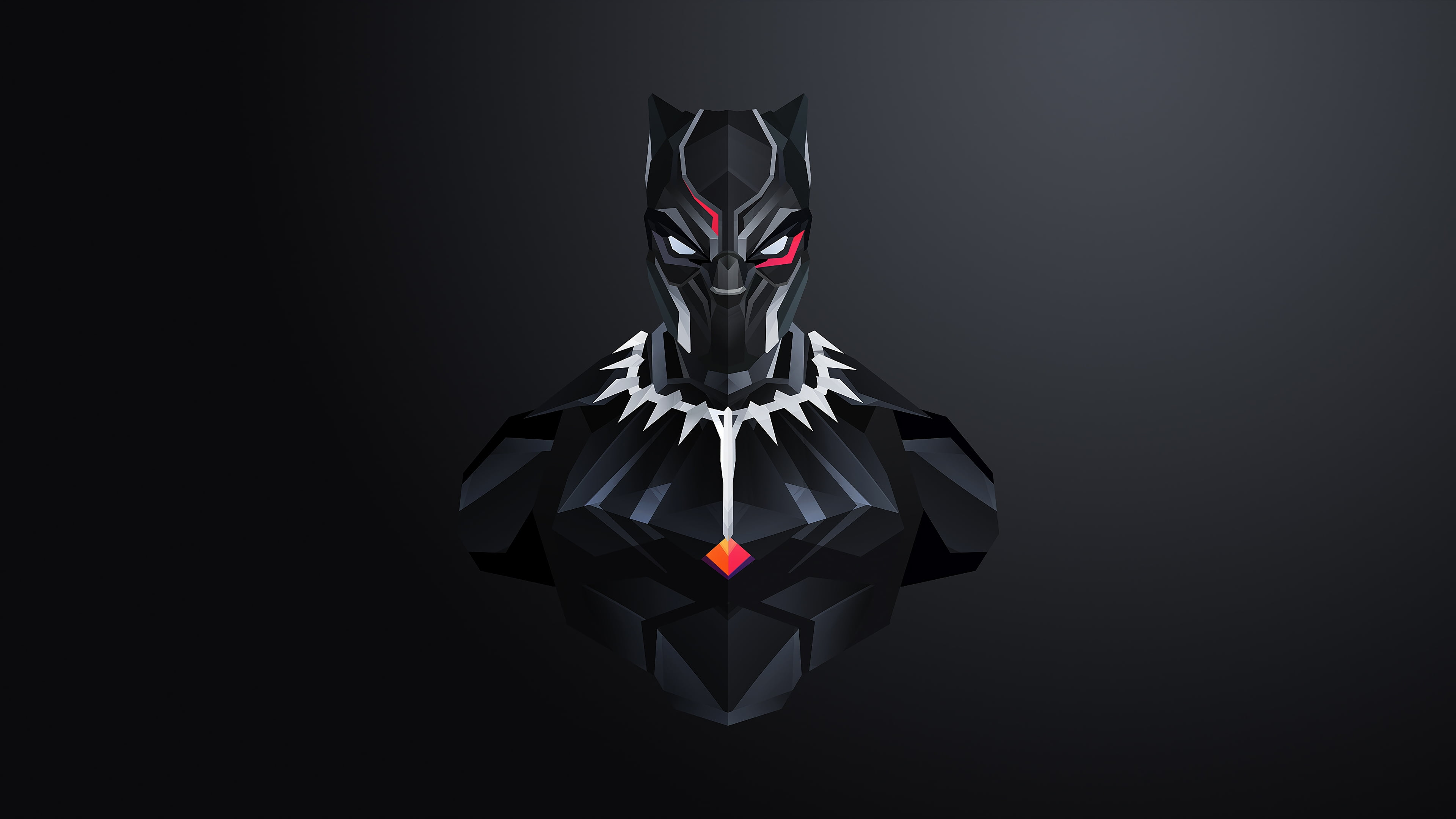 Black panther minimalist clipart picture free stock Marvel Black Panther illustration HD wallpaper | Wallpaper Flare picture free stock