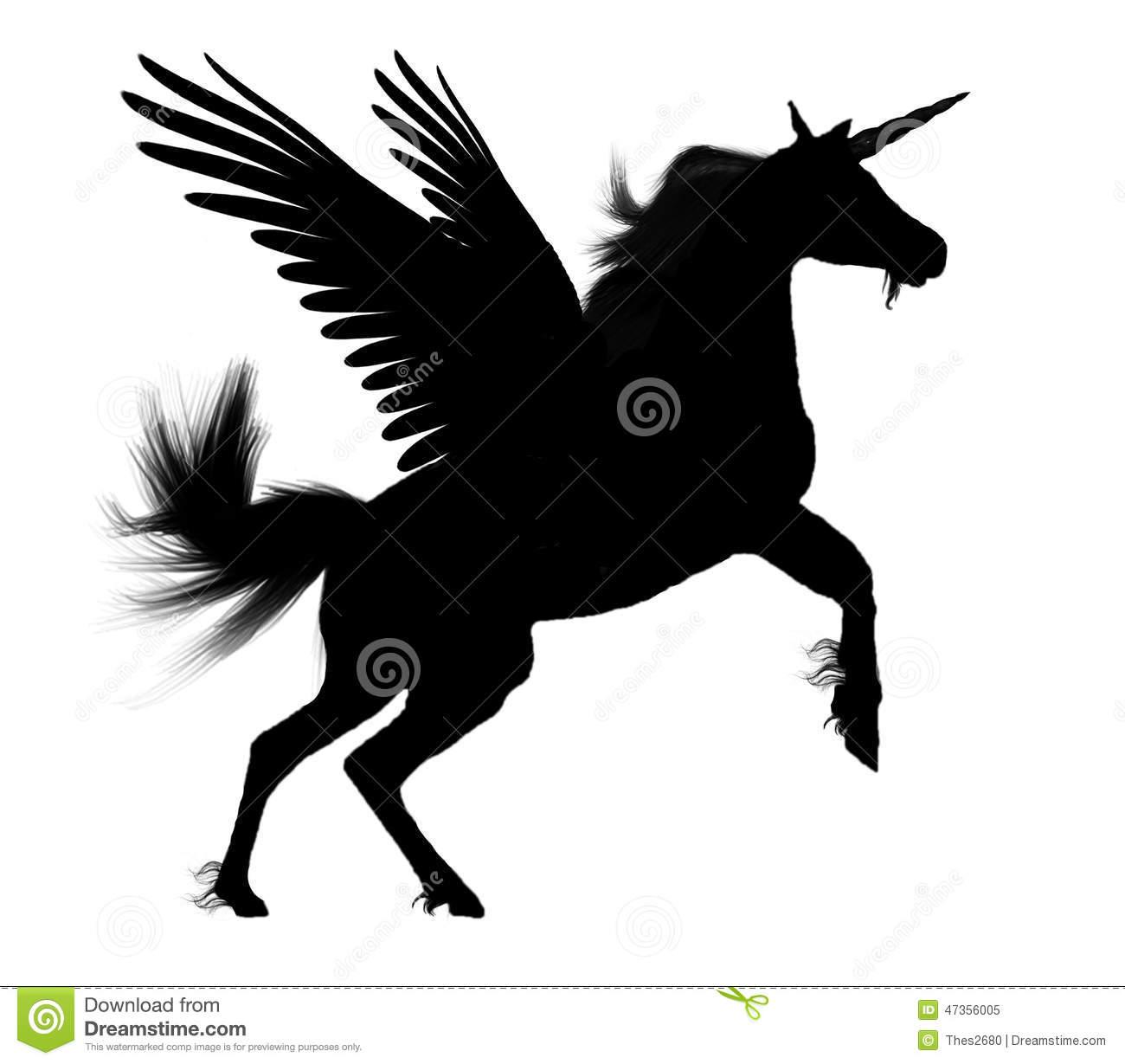 Black pegasus clipart picture royalty free download Black Pegasus Clipart & Free Clip Art Images #20181 - Clipartimage.com picture royalty free download