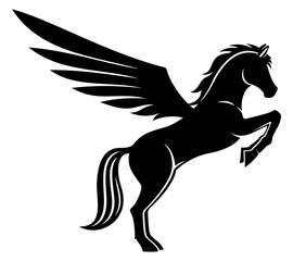 Black pegasus clipart clipart freeuse library Pegasus Clipart Free | Free download best Pegasus Clipart Free on ... clipart freeuse library