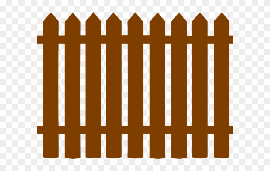 Black picket fence clipart graphic royalty free library Gate Clipart Wooden Gate - Black Picket Fence Clipart - Png Download ... graphic royalty free library