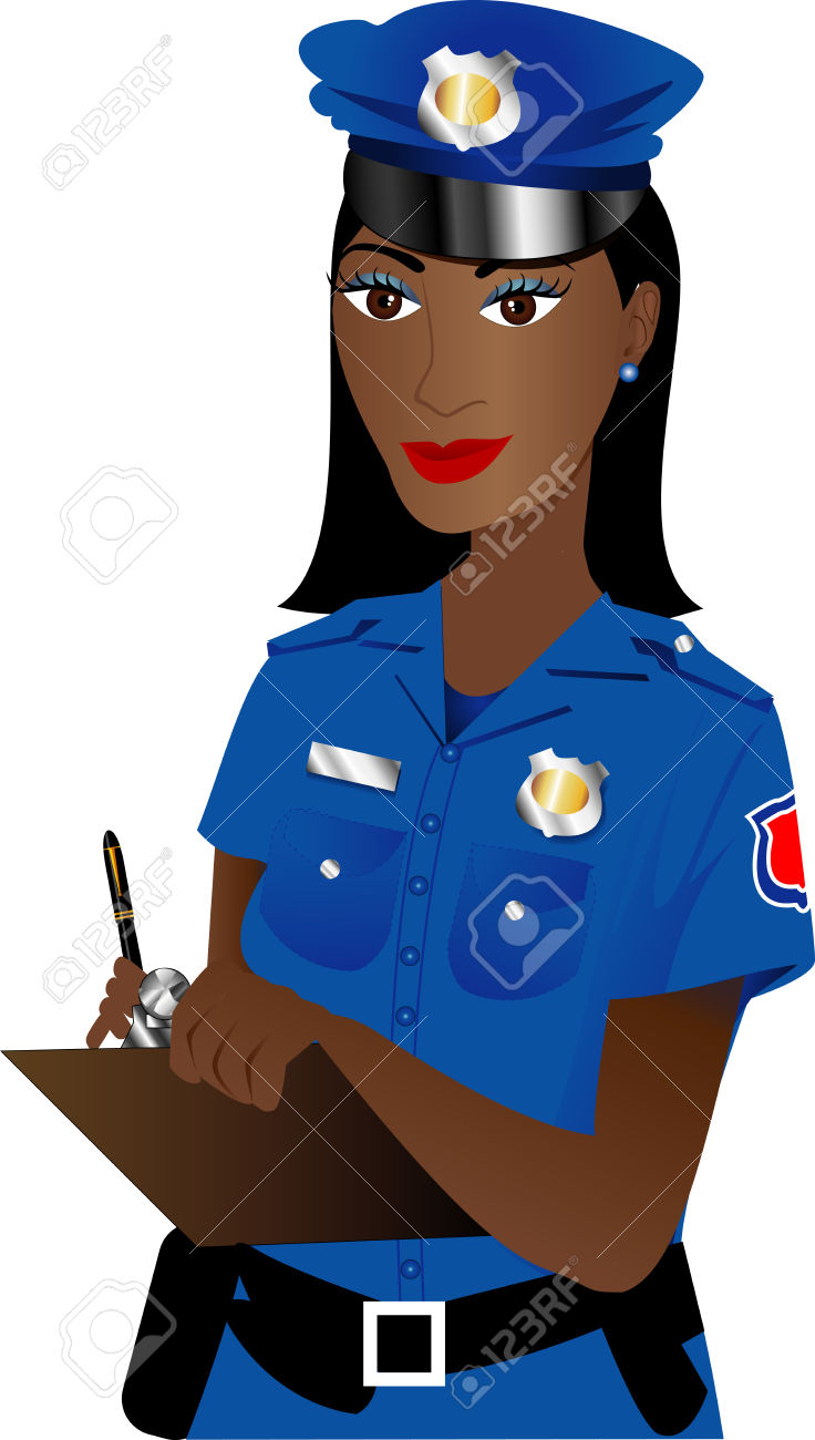 Black police officer clipart clipart free library Female Police Clipart | Free download best Female Police Clipart on ... clipart free library