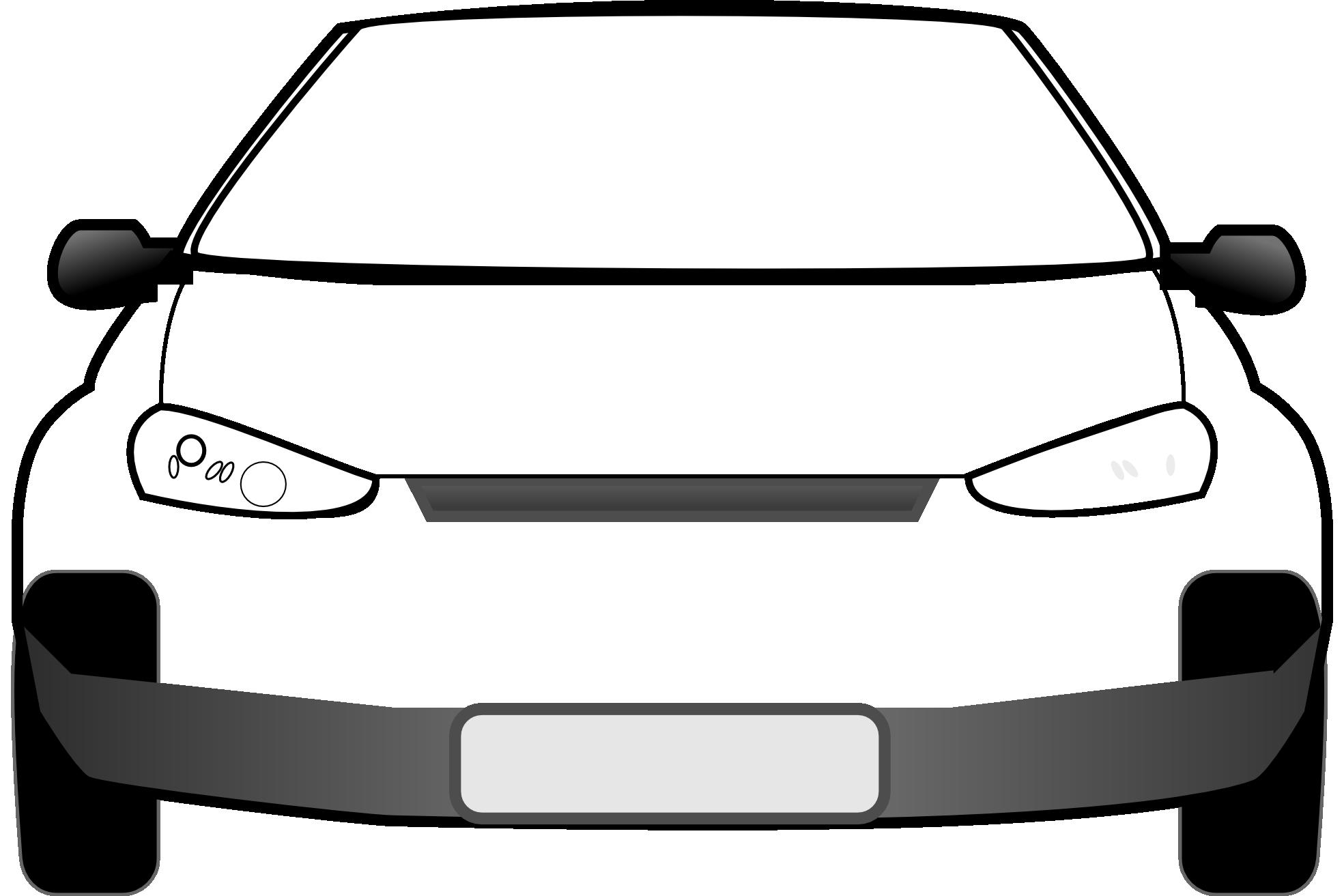 Car radio clipart black and white clip freeuse stock Black And White Car Clipart Image Group (68+) clip freeuse stock