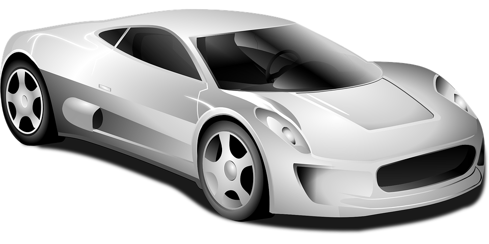 Fancy car clipart clip black and white library Black And White Race Car PNG Transparent Black And White Race Car ... clip black and white library