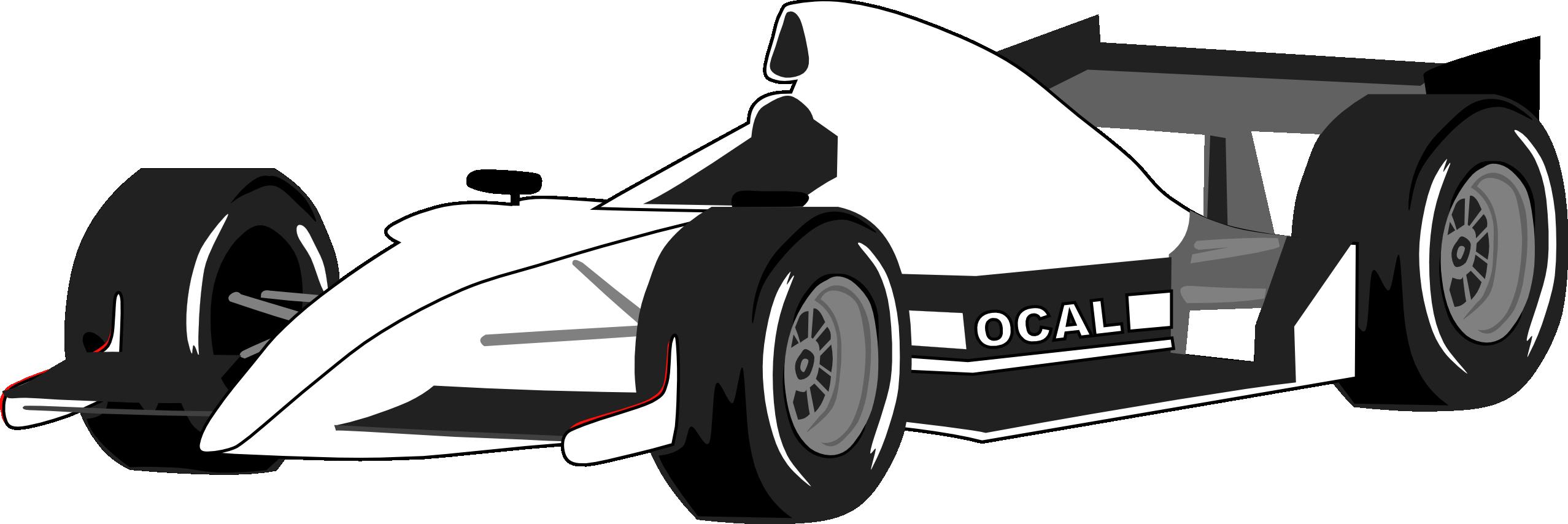 Black race car clipart svg black and white library Black And White Race Car PNG Transparent Black And White Race Car ... svg black and white library