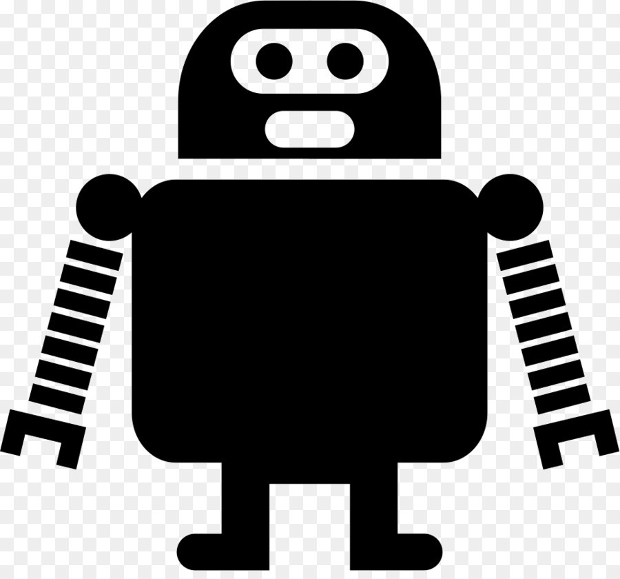 Black robot clipart clip download Black Line Background clipart - Robot, Black, Product, transparent ... clip download