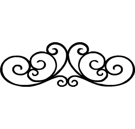 Black rod iron scroll clipart jpg freeuse library Open Scroll | Free download best Open Scroll on ClipArtMag.com jpg freeuse library