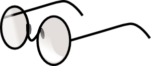 Black round glasses clipart image freeuse Round glasses clipart clipart images gallery for free download ... image freeuse