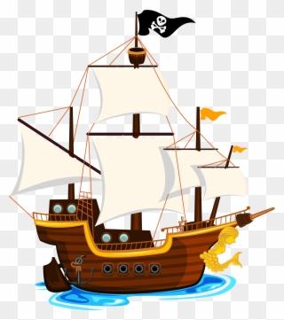 Black sails pirate boat clipart transparent background svg library download E D Ea C Orig Edeacorig - Pirate Ship Clip Art Png Transparent Png ... svg library download