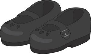 Black school shoes clipart vector transparent library School Shoes Cliparts - Cliparts Zone vector transparent library