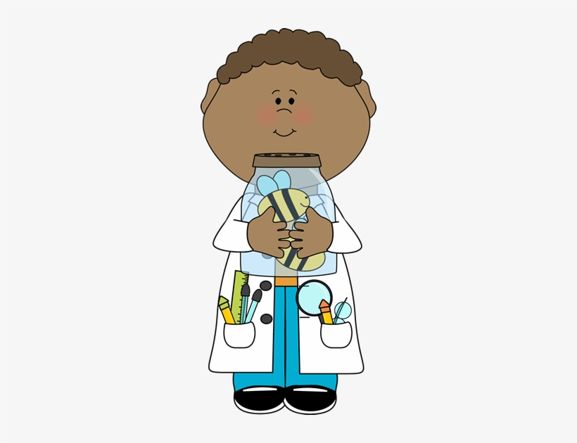 Black scientist clipart svg transparent library Bee Clipart Child - Black Scientist Clipart Transparent PNG ... svg transparent library