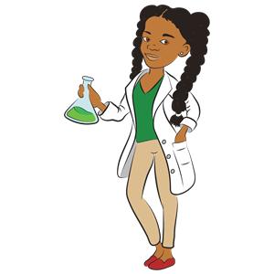 Black scientist clipart clip art Young Female Scientist clipart, cliparts of Young Female Scientist ... clip art