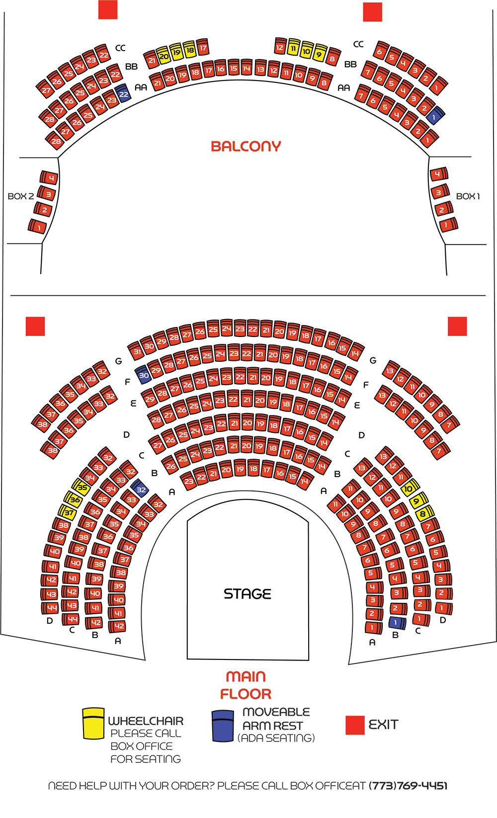 Black seating chart clipart png black and white download Seating Chart - Black Ensemble Theater png black and white download