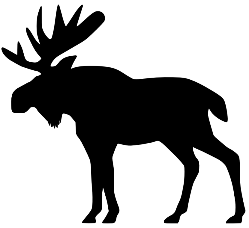 Black shadow moose clipart clipart royalty free stock Free Moose Cliparts Black, Download Free Clip Art, Free Clip Art on ... clipart royalty free stock
