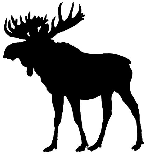Black shadow moose clipart png royalty free download Free Free Moose Clipart, Download Free Clip Art, Free Clip, Moose ... png royalty free download