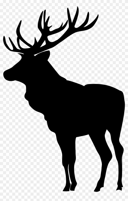 Black shadow moose clipart jpg royalty free Elk Images, Elk Silhouette, Scroll Saw Patterns Free, - Black And ... jpg royalty free