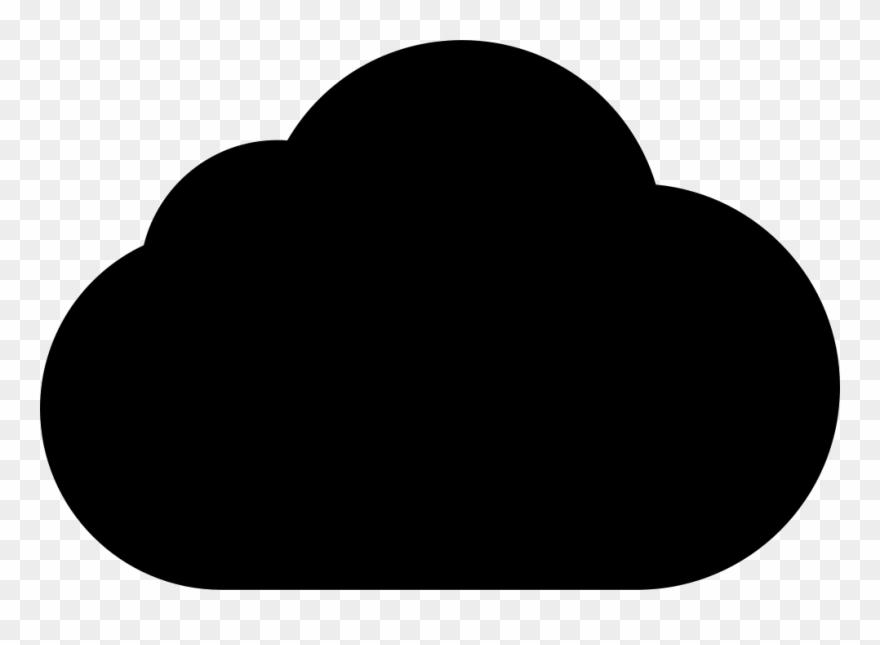 Black shape clipart clipart black and white download Black Cloud Shape Comments Clipart (#2710949) - PinClipart clipart black and white download