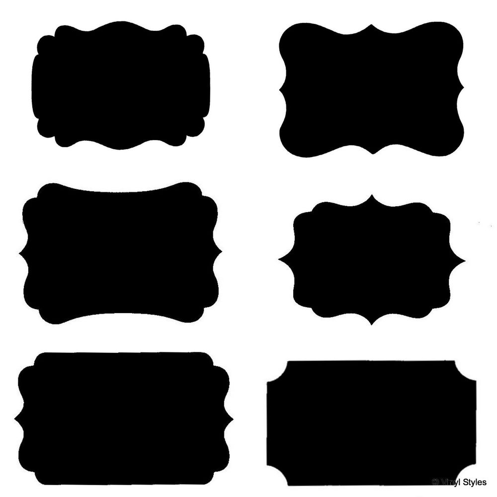 Black shape clipart clipart free library Free Label Shapes Cliparts, Download Free Clip Art, Free Clip Art on ... clipart free library