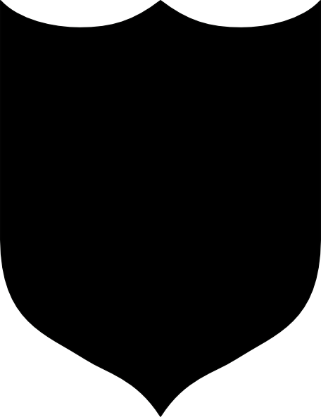 Black shield clipart png black and white library Solid Black Shield clip art | Clipart Panda - Free Clipart Images png black and white library