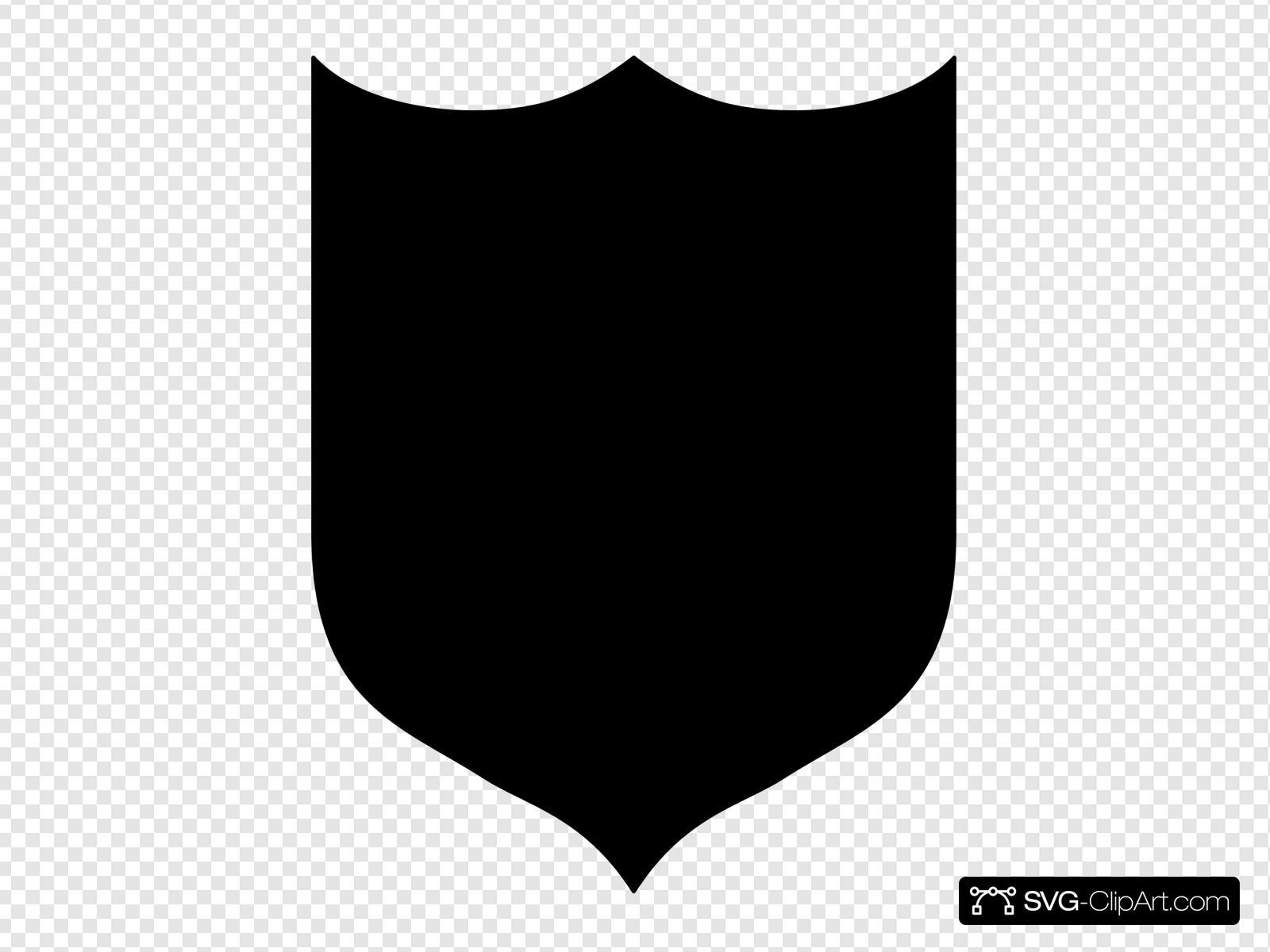 Black shield clipart clip download Black Shield Clip art, Icon and SVG - SVG Clipart clip download