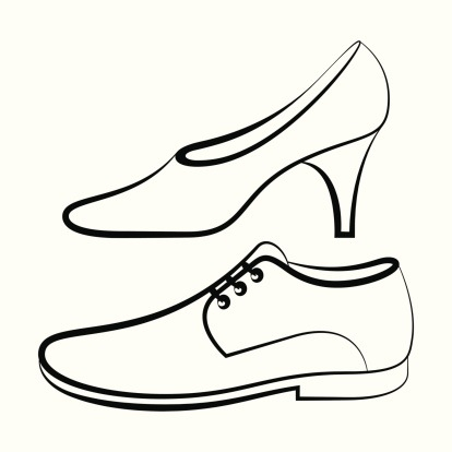 Black shoes for men clipart clipart Dress Shoes Clipart Black And White – Clip Art Library pertaining to ... clipart
