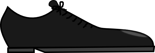 Black shoes for men clipart vector free library Men\'s Shoes Cliparts - Cliparts Zone vector free library