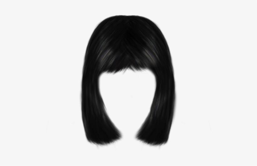 Black short hair clipart clip art royalty free stock Short Hair Clipart Transparent - Lace Wig - Free Transparent PNG ... clip art royalty free stock