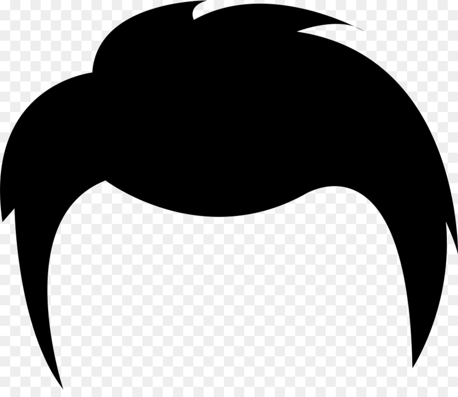 Black short hair clipart banner Bird Silhouette png download - 980*834 - Free Transparent Black Hair ... banner