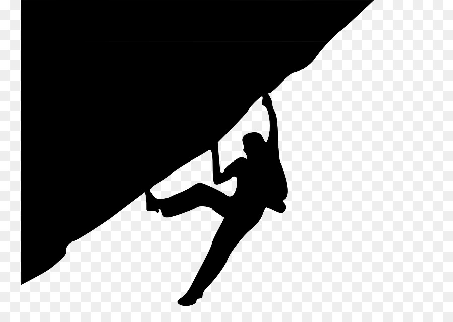Black silhouette clipart graphic free library Rock Background clipart - Climbing, Black, Silhouette, transparent ... graphic free library