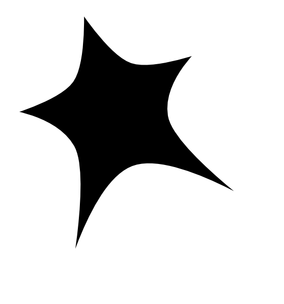 Star outline clipart black and white graphic freeuse library Black Star White Outline Clip Art at Clker.com - vector clip art ... graphic freeuse library