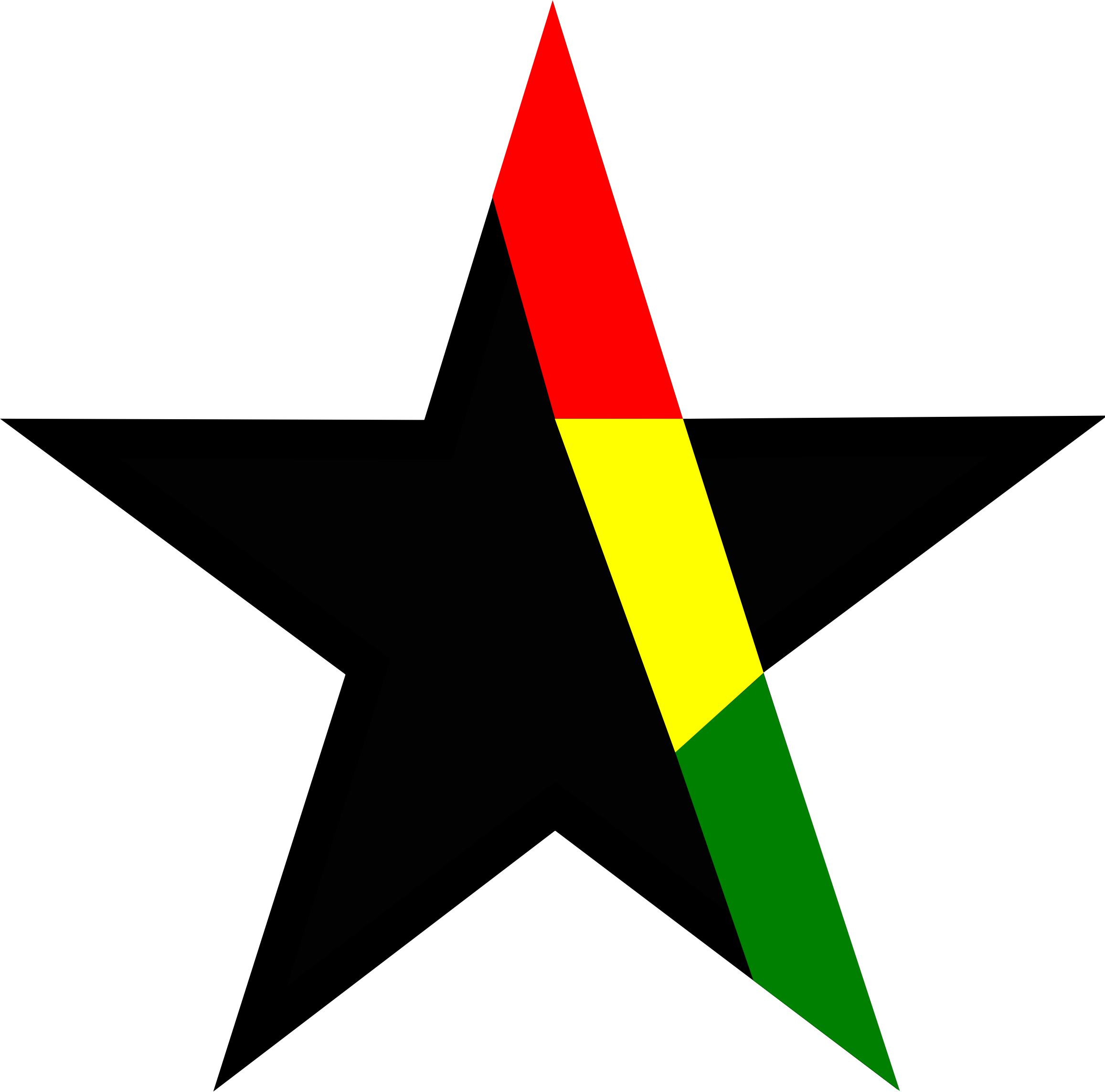 Black star clipart transparent png stock Clipart - Black star Ghana png stock