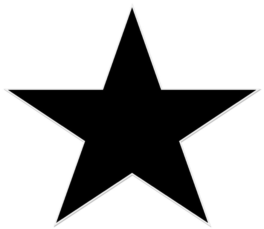 Black star png clipart picture royalty free library File:A Black Star.png - Wikipedia picture royalty free library