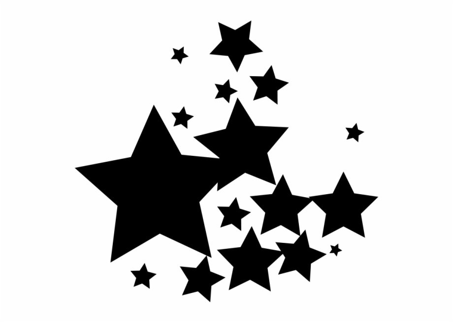 Black stars transparent background free clipart png transparent stock Group Black Star Png - Black Stars Transparent Background ... png transparent stock