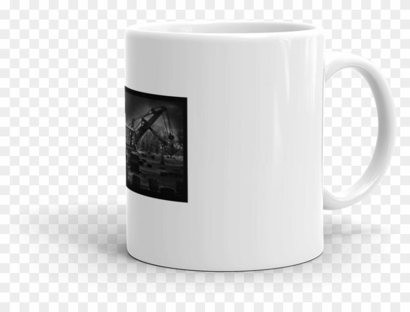 Black steamshovel clipart jpg free download L-cc Steam Shovel In Cemetery Mug - Coffee Cup, HD Png Download ... jpg free download