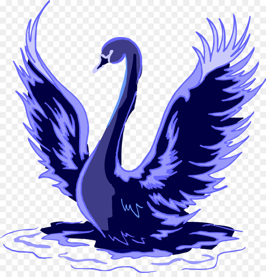 Black swan international clipart graphic transparent Bird Silhouette png download - 1213*1248 - Free Transparent Black ... graphic transparent