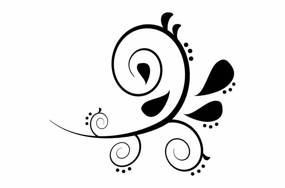 Clipart swerls png stock Simple Swirls Clipart Free Clipart Image - Swirl Clipart Black And ... png stock