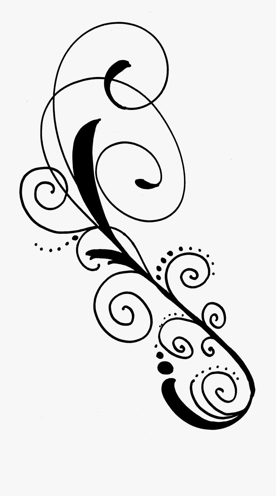 Black swirls png clipart free svg free stock Clip Art Black And White Swirls Png Swirlfreebie Sheristrykowski ... svg free stock