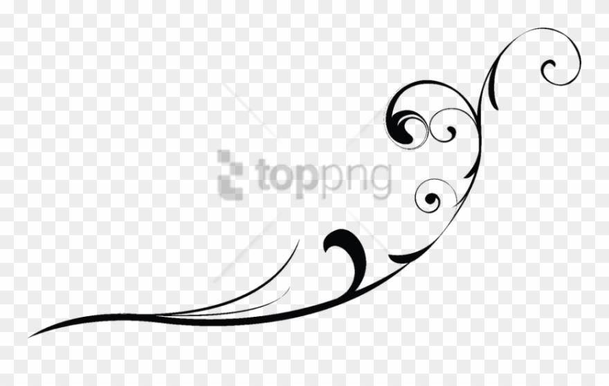 Black swirls png clipart free clip art black and white stock Free Png Swirl Line Design Png Png Image With Transparent - Swirl ... clip art black and white stock