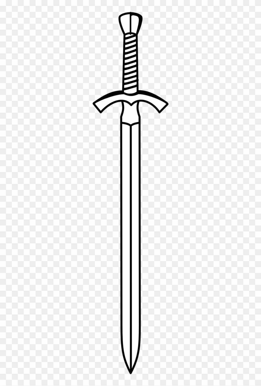 Black sword clipart banner Two Edged Sword - Sword Clipart - Png Download (#900768) - PinClipart banner