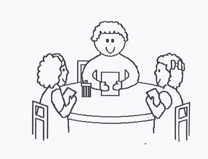 Black teacher with students at table clipart svg freeuse download Free Teacher Table Cliparts, Download Free Clip Art, Free Clip Art ... svg freeuse download