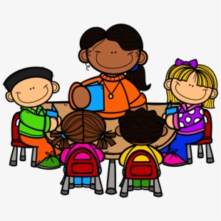 Black teacher with students at table clipart clip art library Free Teachers Clipart Images Cliparts, Silhouettes, Cartoons Free ... clip art library