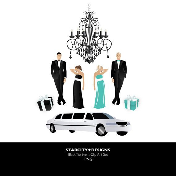 Black tie event images clipart image stock Black Tie Event Clip Art Clipart Vector Art by StarcityDesigns ... image stock