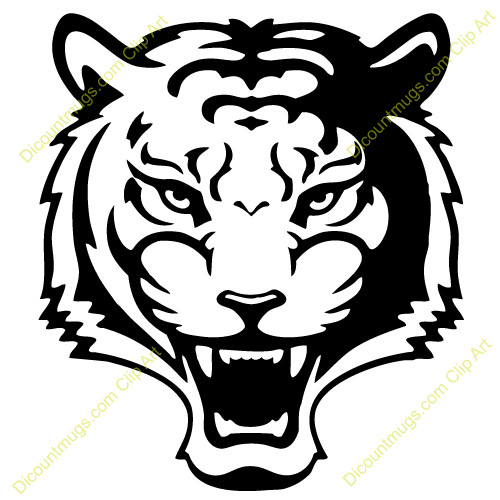 Black tiger clipart royalty free download Black And White Tiger Clipart Charte Graphique Org Detail Favorite ... royalty free download