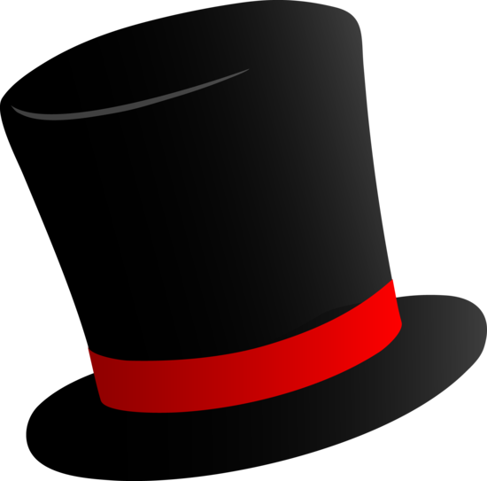 Black top hat clipart picture library stock Black top hat clipart...Frosty?? | Christmas | Hat template, Black ... picture library stock